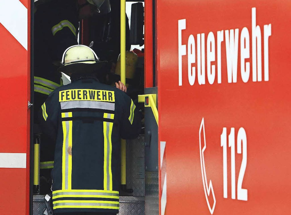Die Feuerwehr Bad Säckingen musste am Wochenende zu vier Einsätzen ausrücken.   | Foto: dpa