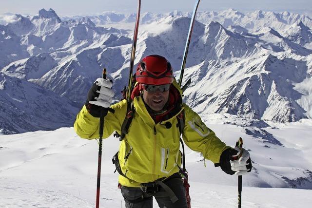 Mit Peter Schlickenrieder über Dünne Latten, die die Welt bedeuten - Vom Olympiamedaillengewinner zum Abenteurer im wilden Kaukasus, Atlasgebirge und 7000er Khan Tengri in St. Märgen
