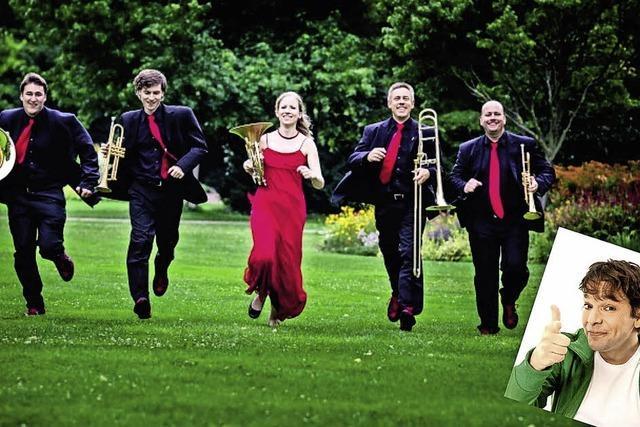 Hänsel und Gretel mit Brass 4.1 und KiKa-Moderator Juri Tetzlaff