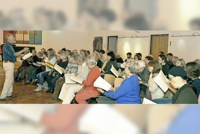 Das Vocalensemble führt Deutsches Requiem von Brahms auf