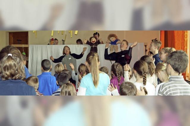 Über 50 Kinder lernen eine Menge über Luther und die Reformation