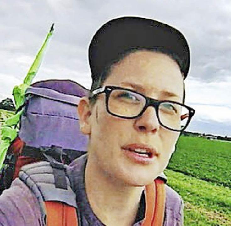 Die junge Pilgerin Marinka Limat  | Foto: Veranstalter