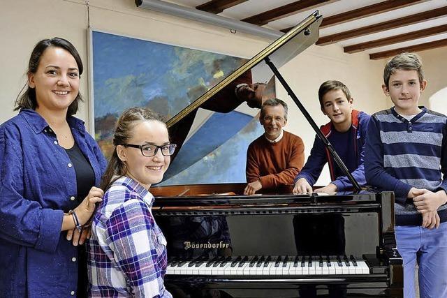 Eine musikalische Großfamilie