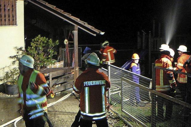 Feuerwehren üben gemeinsam