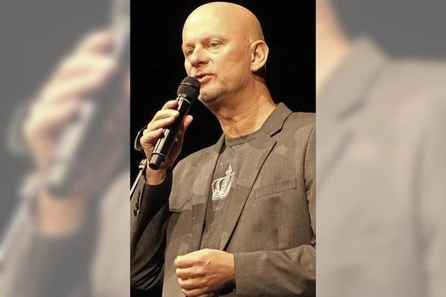 Comedian Rüdiger Hoffmann gastierte im Gloria-Theater