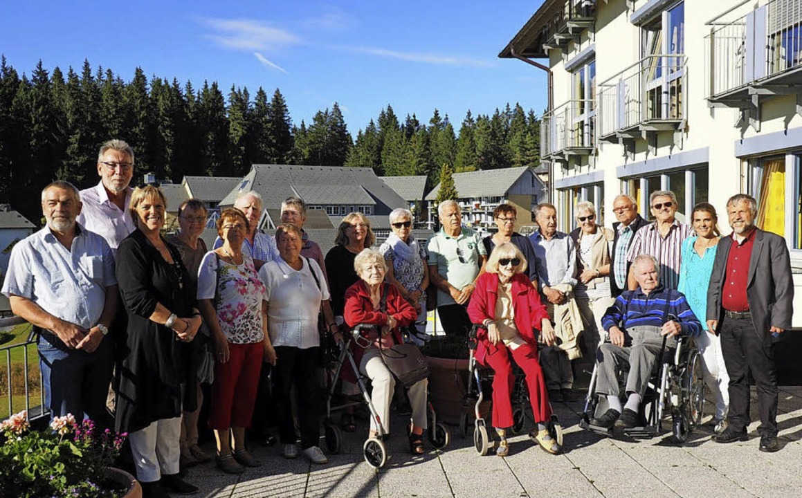 Die AWO Waldkirch besuchte die   Katharinenhöhe.   | Foto: K. Laxander