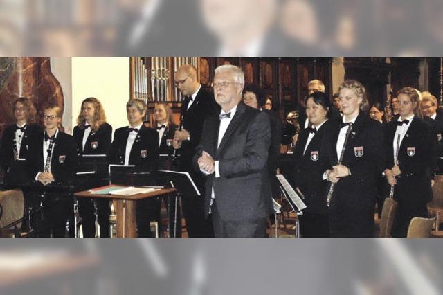 Stadtmusik überzeugt beim Münsterkonzert