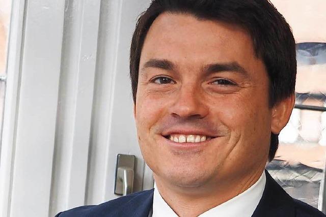 Bürgermeister Matthias Gutbrod ist wiedergewählt