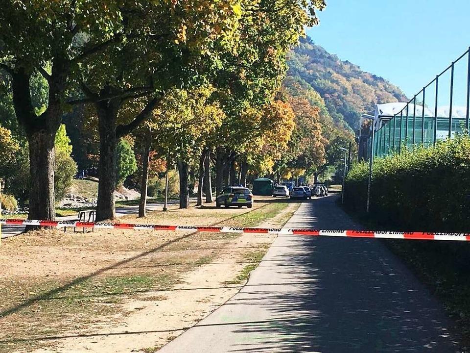 Die Leiche von Maria L. wurde am 16. O...zwaldstadions in der Dreisam gefunden.  | Foto: Frank Zimmermann