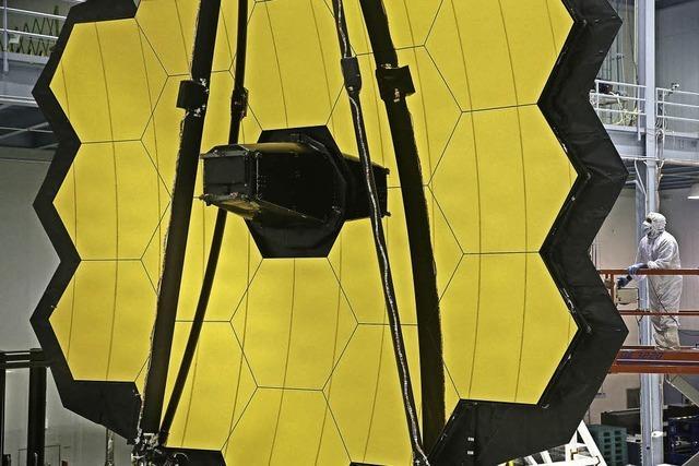 Neues Weltraumteleskop Webb soll 2018 ins All fliegen
