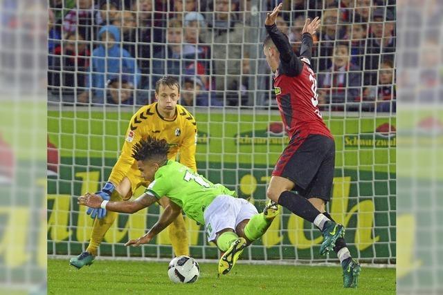 0:3: Nach zehn Gewinnerspielen verliert der SC Freiburg gegen den VfL Wolfsburg