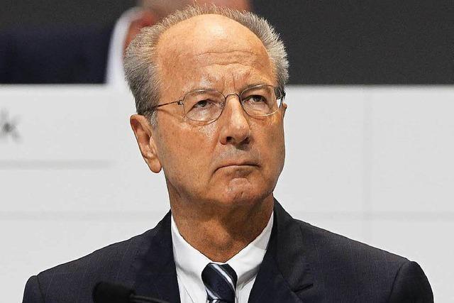 Ärger bei VW wegen Ermittlungen gegen Pötsch