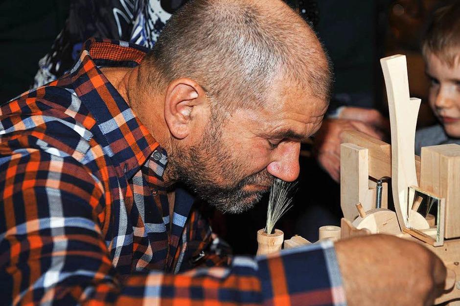 Die Endreinigung der Nase erfolgt maschinell. (Foto: Wolfgang Scheu)