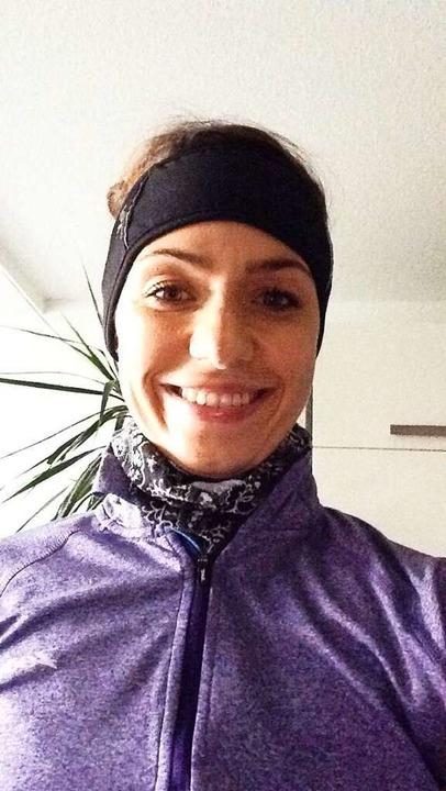 Carolin G. in der von ihr zuletzt getragenen Laufkleidung.  | Foto: privat