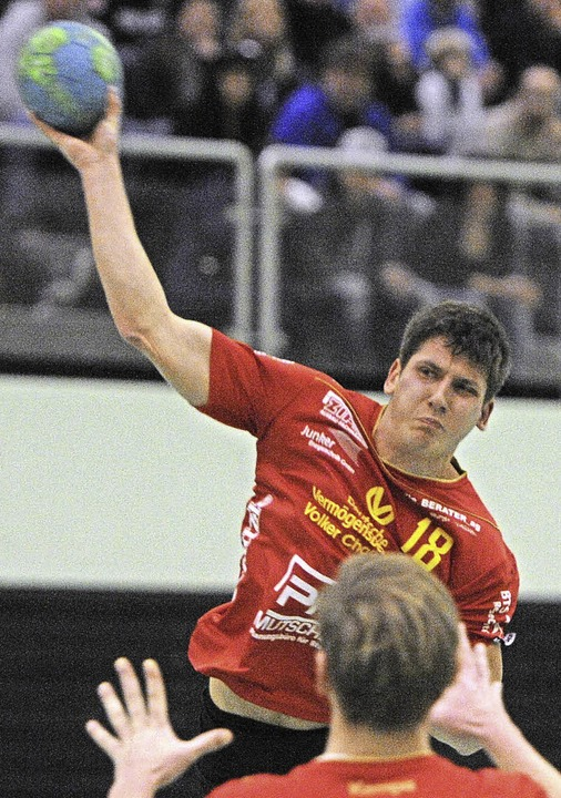 <BZ-FotoAnlauf>Landesliga: </BZ-FotoAn...atchwinner des  TVH: Niklas Pommeranz   | Foto: Keller