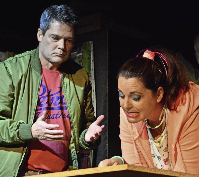 Kammerspiel für Rainer Sautter und Vanessa Schneider   | Foto: Barbara Ruda