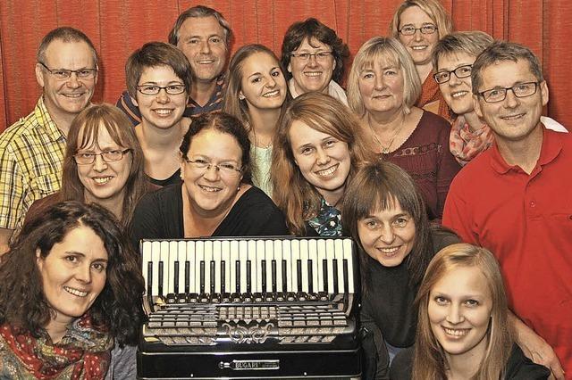 Geistliche Abendmusik mit dem Akkordeonorchester Heitersheim in der Martinskirche in Mengen