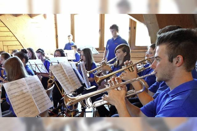 Jahreskonzert der Bläserjugend des Musikvereins Eisenbach in Eisenbach
