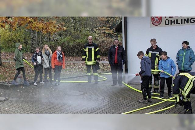 Kindergottesdienst beinhaltet auch Besuch bei der freiwilligen Feuerwehr