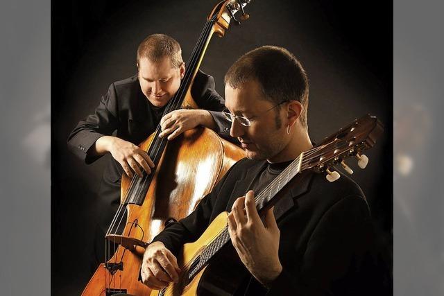 Martin Hess und Oliver Fabro. Konzert im Storchehus in Wehr