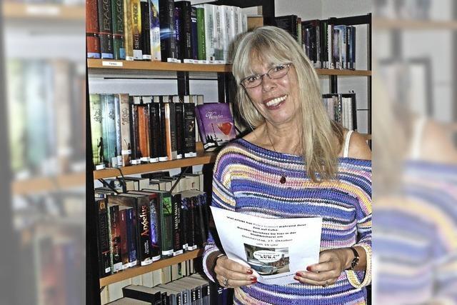 Lesung aus ihrem neuen Buch im Brunnmatthof in Albbruck-Unteralpfen