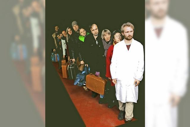 Uraufführung der Mulit-Media-Revue