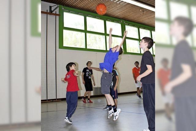 Sonntags nach Langenau zum Kindersport