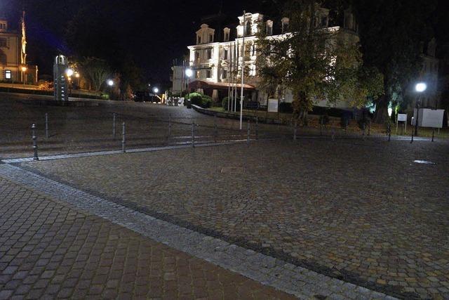 Kritik am nächtlichen Schlossplatz