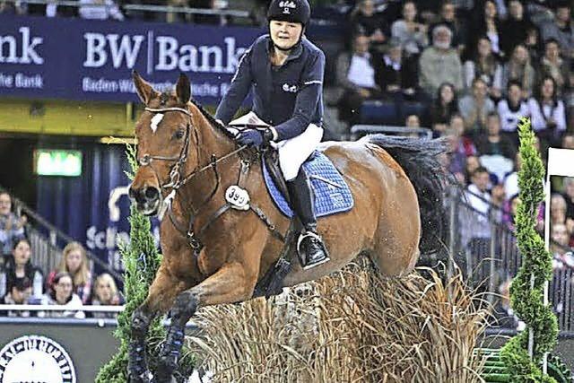 Zwei Reiter bei German Masters