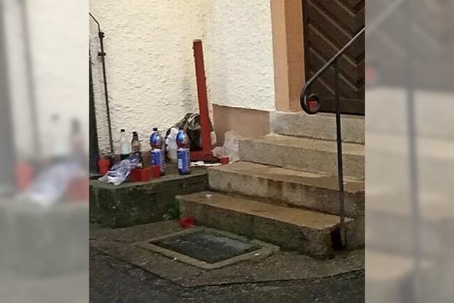 Vandalismus an Kirche in Zell