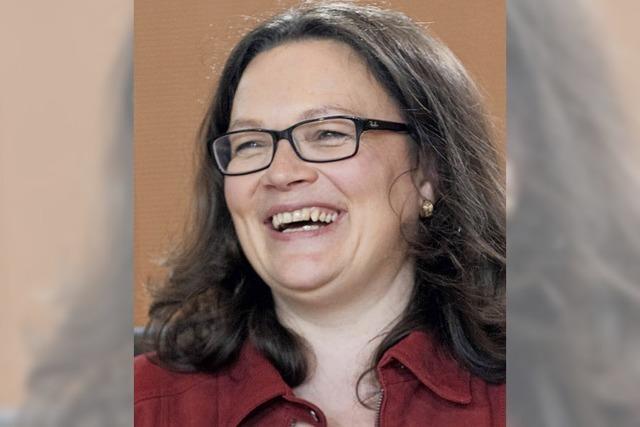 Andrea Nahles steht im Rentenstreit zwischen den Fronten