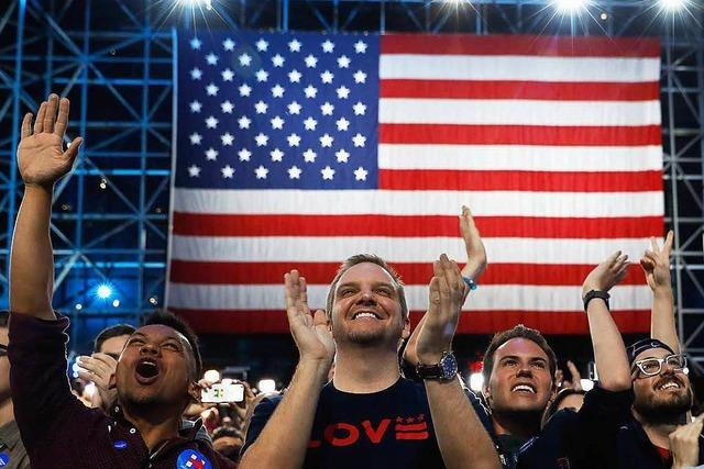 Liveticker zum Nachlesen: Donald Trump wird Präsident der Vereinigten Staaten