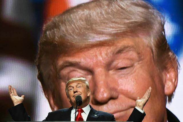 Donald Trump: Der Triumphator