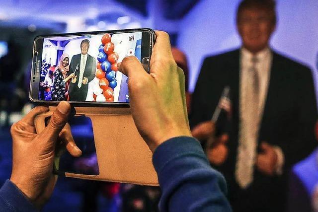 Social-Media-Show: Wie das Netz auf die Trump-Wahl reagiert