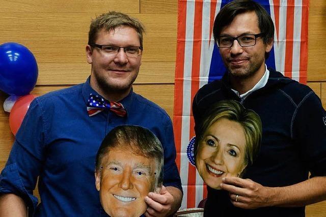 Spannung pur bei der Election Night im Lörracher Hebel-Gymnasium