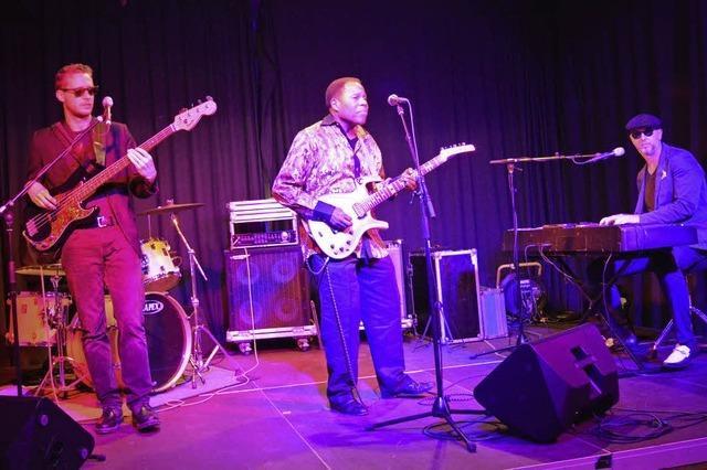 Eine Liebeserklärung an den Blues von Tee Dee Young und der Henry Carpaneto Band