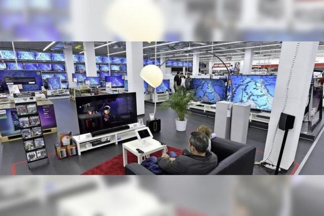 Die Freiburger Mediamarkt-Filiale wurde modernisiert