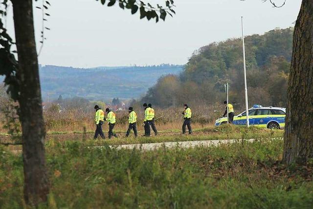 Polizei rekonstruiert einen Teil der Laufstrecke