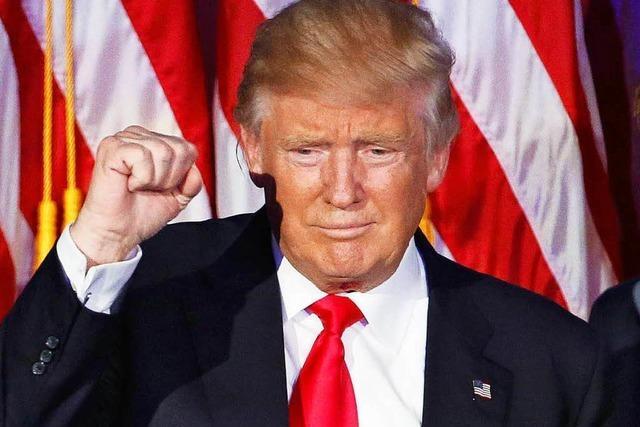 Trump erobert das Weiße Haus: Reaktionen und Einschätzungen