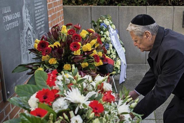 Bundespräsident erinnert an Opfer der Pogromnacht