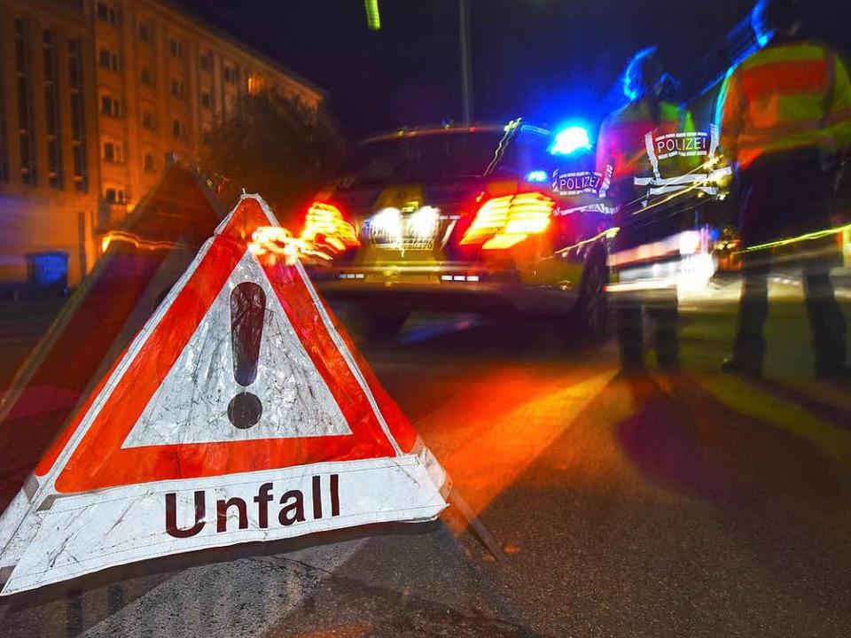 Ein Unfall (Symbolbild)  | Foto: dpa