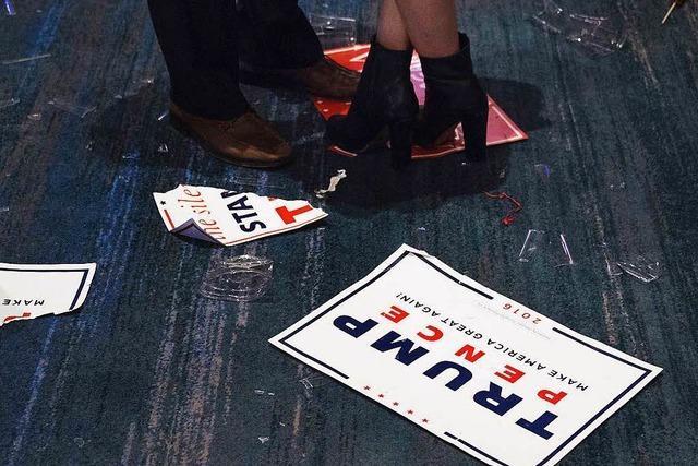 Entwarnung nach Trump-Wahl wäre fehl am Platz