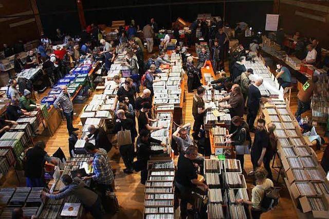Am Samstag ist Schallplatten- und CD-Börse im Haus der Jugend