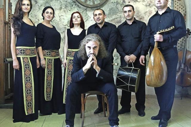 John Hodian und das Naghash Ensemble stellen CD