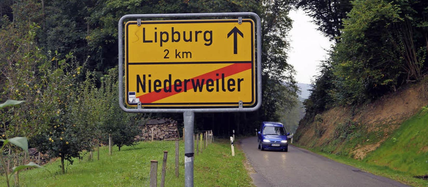 Zwei Kilometer liegen zwischen Lipburg...der Kreisstraße jedoch sind nicht gut.  | Foto: Silke Hartenstein