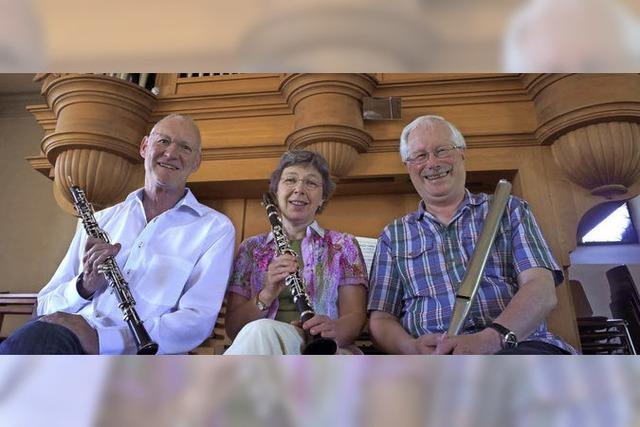 Wittnauer Trio spielt zugunsten der Flüchtlingshilfe