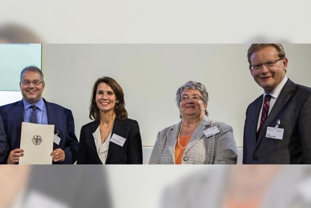 Bürgermeister Guhl nimmt in Berlin Förderbescheid über 80.000 Euro entgegen