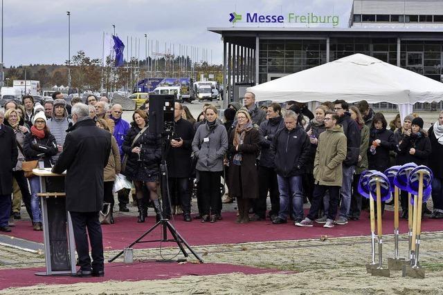 Das neue FWTM-Hauptquartier wird an der Messe gebaut