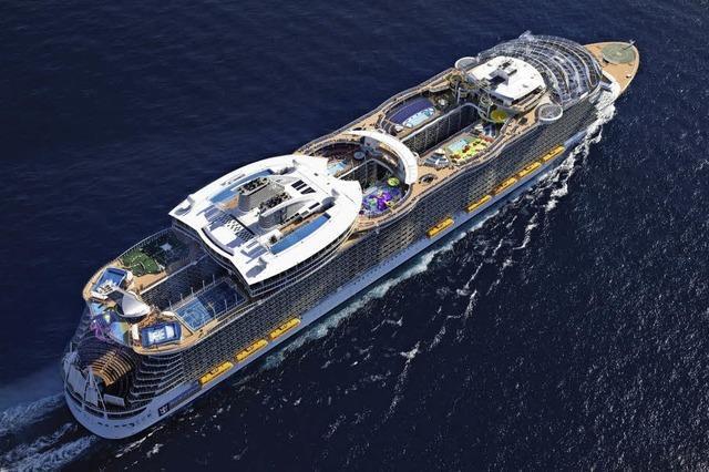 Ozeanriesen werden riesiger - für manche Häfen zu groß