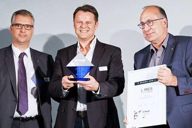 Fotos: BZ-Award 2016 im Pressehaus Freiburg